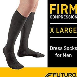 Futuro men's compression socks